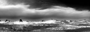 Sand Dunes and Sky by Locopelli