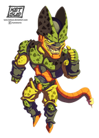 Semi Perfect Cell by KetsuoTategami