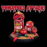 Tomatoes Attack! by Clanceypants