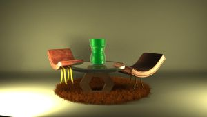 3D Work-Furniture by Urvy1A