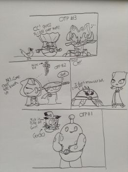 My OTP's for the plant heroes doodle/sketch by Epicling
