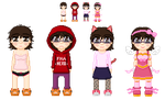 Outfit Sprites by vivicool995