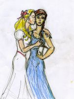 Katniss and Madge by theaven