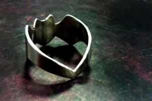Fourth Silver Project - Adjustable Bat Ring by MyOwnConga