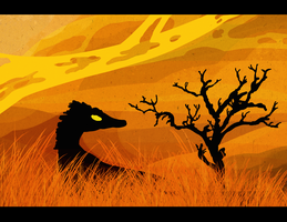 Scorching Plains by ToxicKittyCat