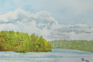 Clear Lake 2013 En Plein Air by unSpookyLaughter