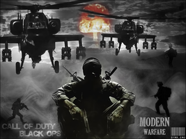 Call Of Duty mw2 + Black ops by Th3EmOo