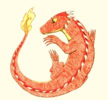 Lizard Flame by Up-Your-Arsenal-N90