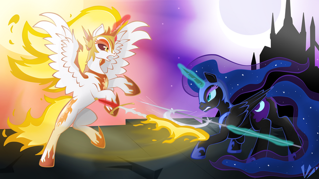 Day and Night by Virenth