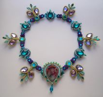 Aspiration-soutache necklace by FdFCrafts