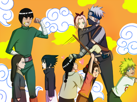 Team Gai Team 7 Young by BayneezOne