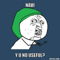 Navi Y U NO by thouartfan