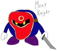Meat Knight by MarcusWilliams