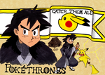 Pokethrones - Ash of House Ketchum by wafische89