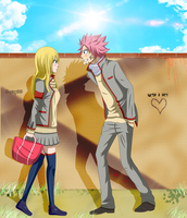 NaLu Pause by X-Ray99