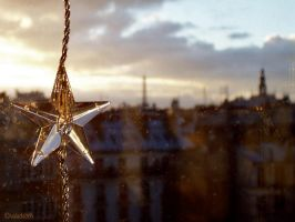 a star over paris by valaddoch