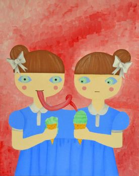 Twins -The Ice Cream by Podansk