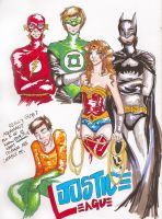 The Justice League...? by ThatArtKid