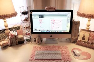 Workspace Love by mew-chii