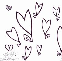 CurLy HeaRts by InkMunkY