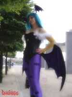 Morrigan from Darkstalkers by NekoFlameAlchemist