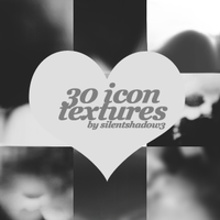 Black And White Icon Textures by silentshadow3