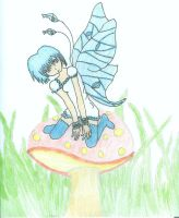 Spring Fairy by Bluehuskey12
