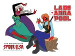 The Spectacular Spider-Elsa and Lady Annapool by Yastach