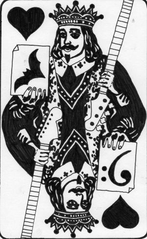 King of Hearts This was commissioned