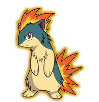 A wild Quilava appeared! by Pikachugirl345