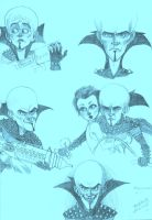 Megamind sketches 1 by caitabraxas