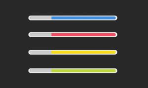 4 Progress bars (PSD) by Grafiproject