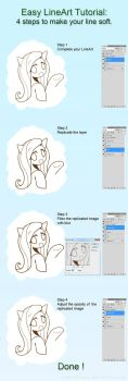 Easy LineArt Tutorial by HowXu