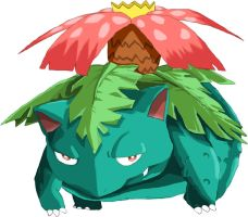 Venusaur by john67