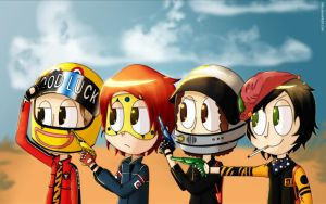 The Fabulous killjoys by L0kii