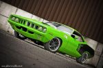 Sassy Grass Green Cuda by AmericanMuscle