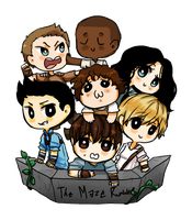 Gladers by Reikiwie
