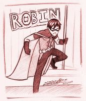 [Collab] Young Justice : Robin by SketchyRae
