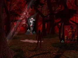 The Crimson Forest by TLadyJessica