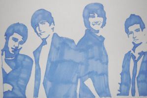 Big Time Rush Drawing by SkyeDarmal