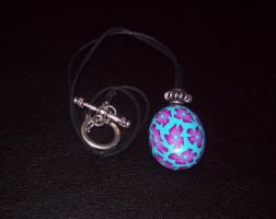 Flower Cane Pendant Small by Eldessia