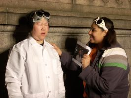 Dr. Horrible and Fan Girl by TheSpazOutLoud