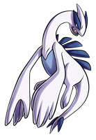 Day 24 - Lugia by PrinceofSpirits