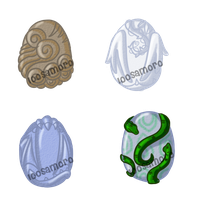 MYSTERY STONE EGGS [AUCTION - CLOSED] by LooSamoro