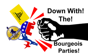 Down with Bourgeois Parties by Party9999999