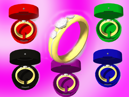 [MMD] Diamond Ring and Box DL by OniMau619