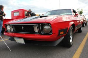 Red Mach 1 by KyleAndTheClassics