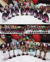 JKT 10th Monster High doll by seawaterwitch