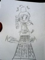DR WHO AND DALEK by ananomus111