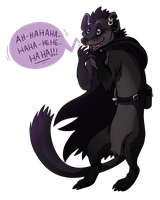 Stupid Weasel! by Kingfisher-Gryphon